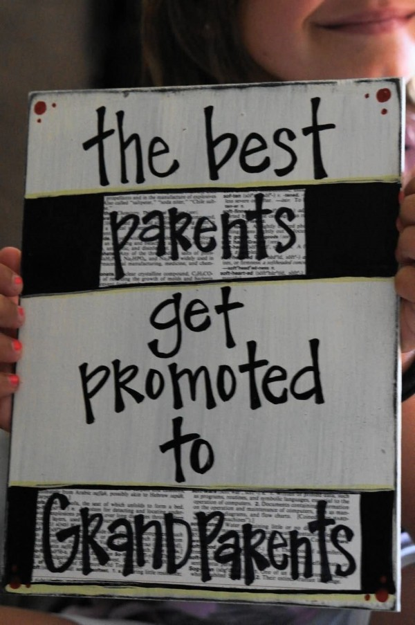 The best parents get promoted to grandparents 003