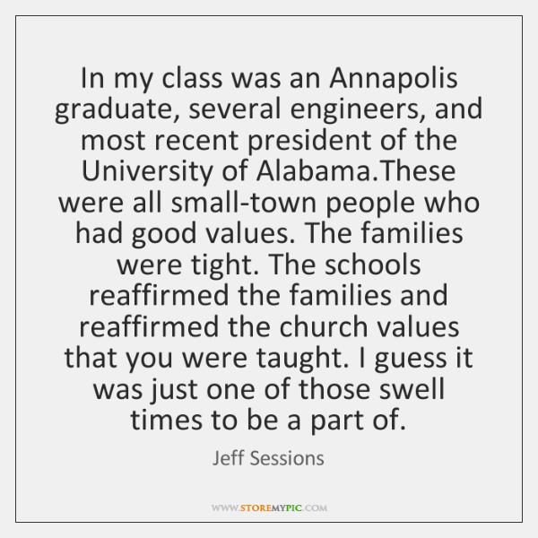 In my class was an Annapolis graduate, several engineers, and most recent ...