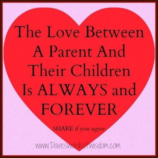 parents love for their child