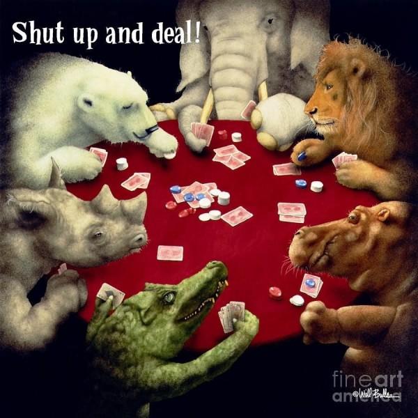 Shut up and deal animal kingdom
