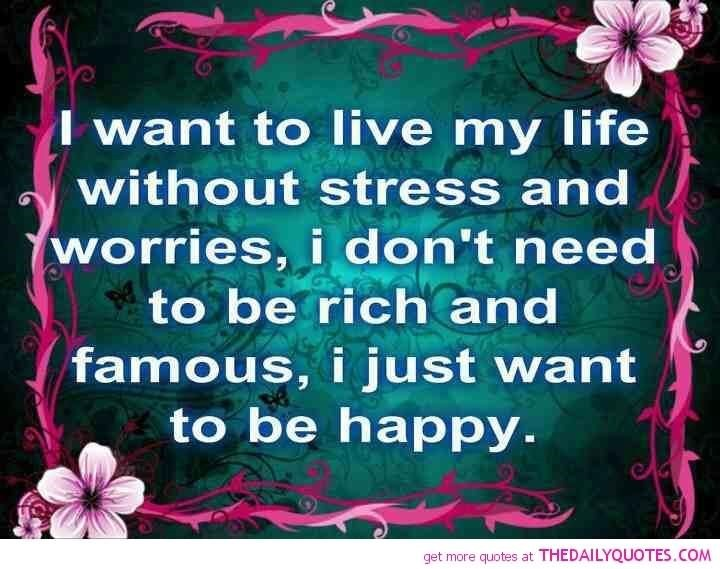 a life without stress