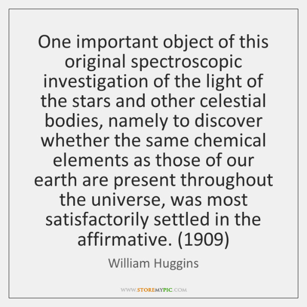 One important object of this original spectroscopic investigation of the light of ...