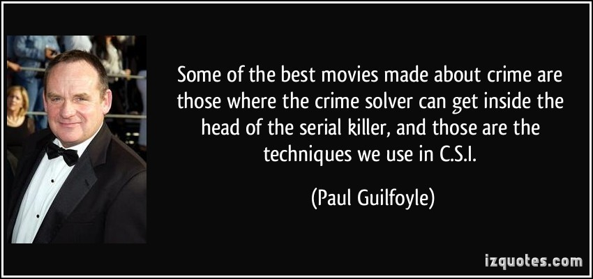 Some of the best movies made about crime are those where the crime