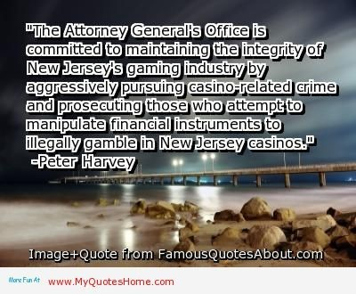 The attorney generals office is committed to maintaining the intergrity of new jerseys g