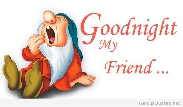 Goodnight My Friends Storemypic