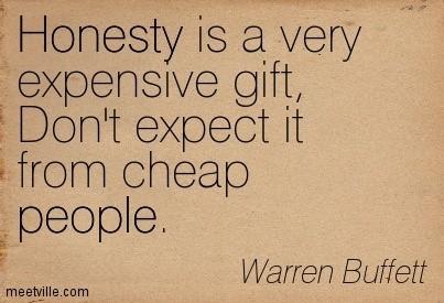 Honesty Quotes - - StoreMyPic