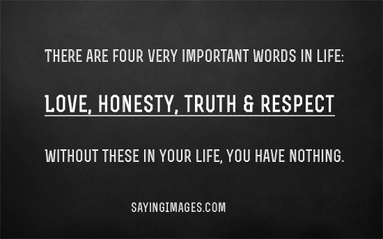 why is honesty important in life