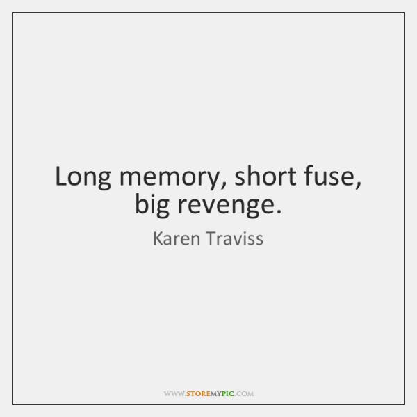 short paragraph on revenge