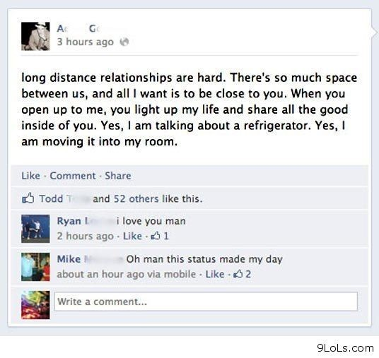 Long Distance Relationship Are Hard Theres So Much Space Between Us