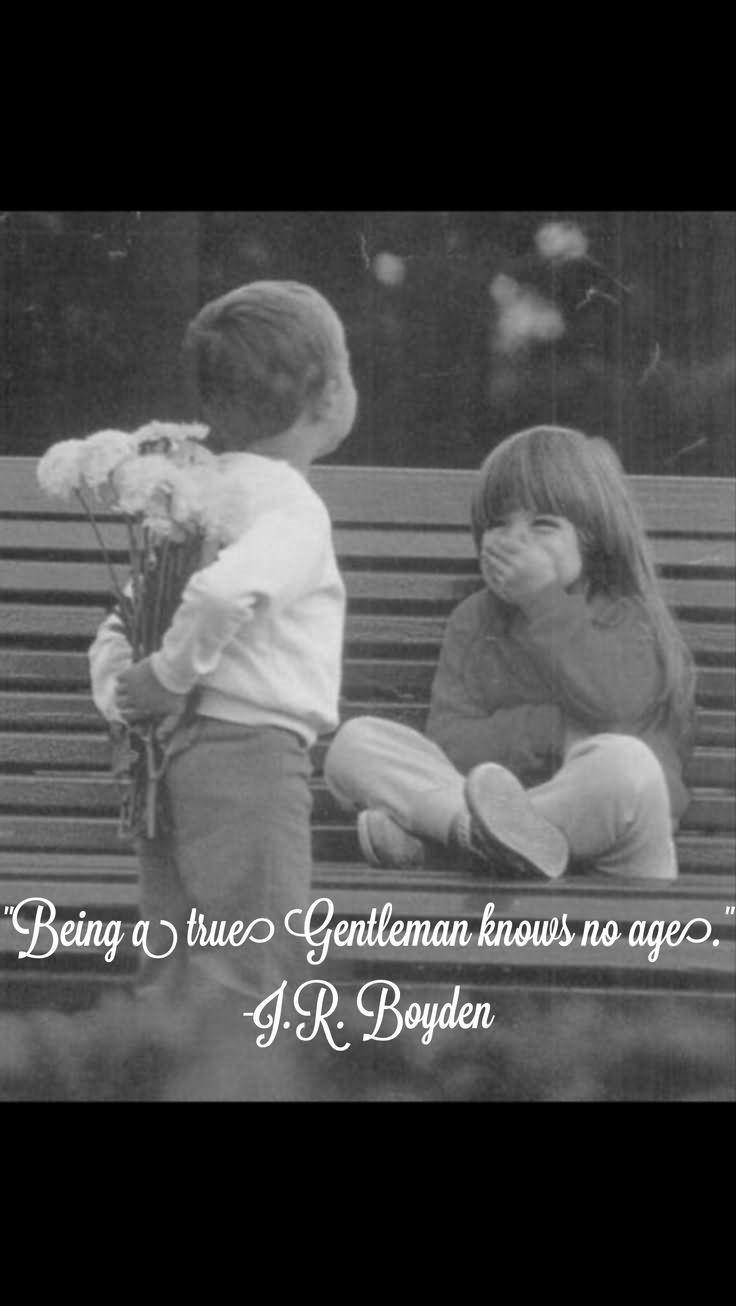 Being A True Gentleman Knows No Age Storemypic