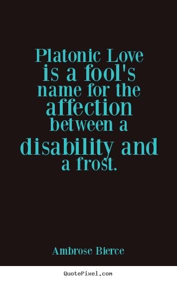 Platonic affection