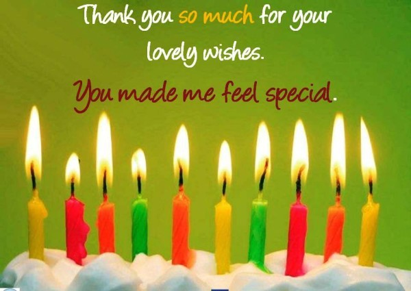 thanks for your good wishes