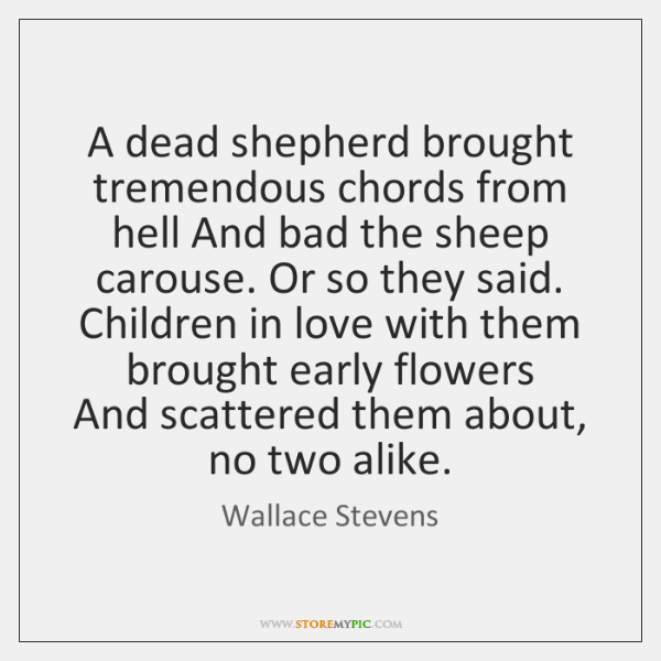 Wallace Stevens Quotes Storemypic