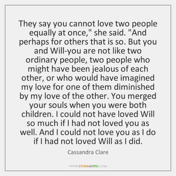 in love with two people quotes