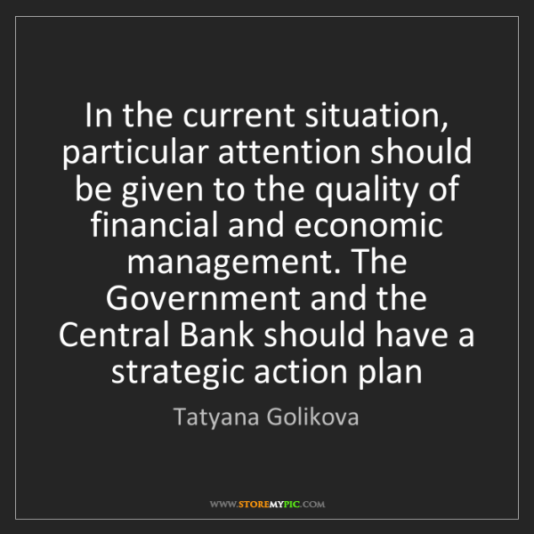 Tatyana Golikova: In the current situation, particular attention should...