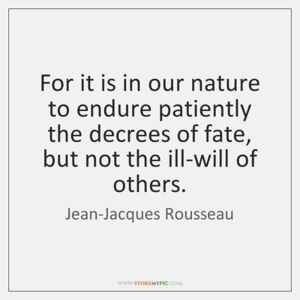 Jean Jacques Rousseau Quotes Storemypic
