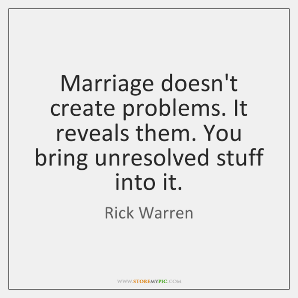 rick warren quotes on marriage
