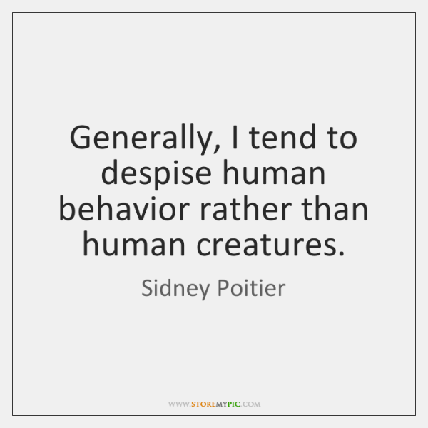 human behaviour is learned rather than