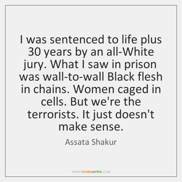I was sentenced to life plus 30 years by an all-White jury. What ...
