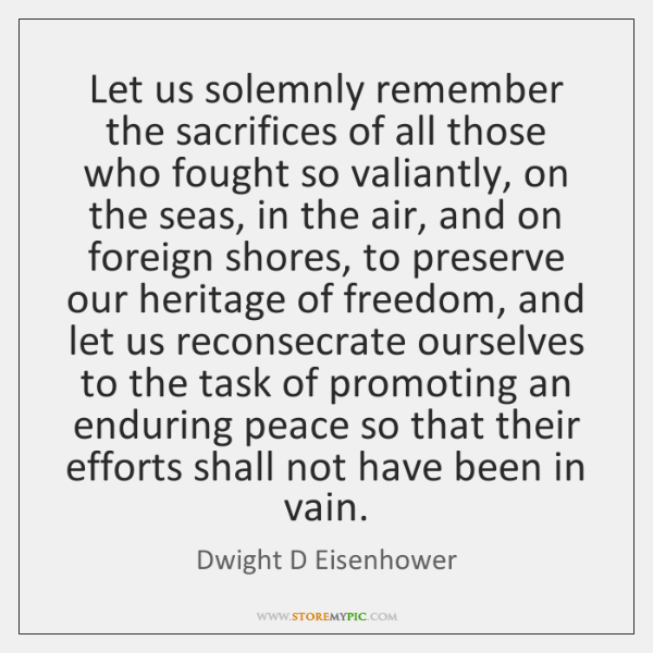 Dwight D Eisenhower Quotes Storemypic