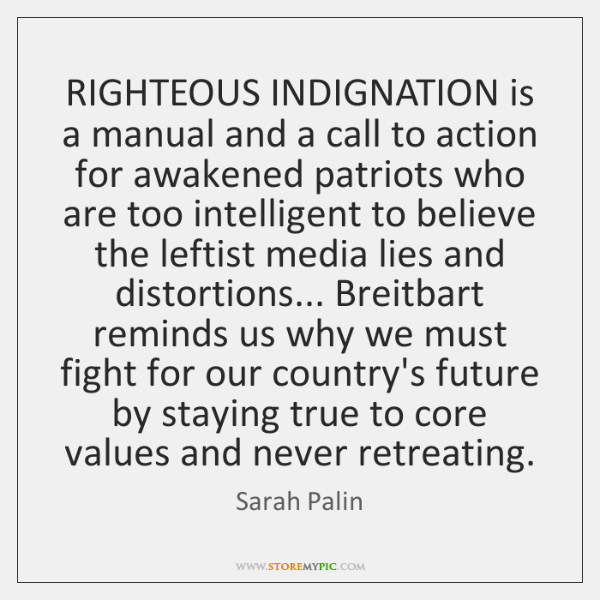 RIGHTEOUS INDIGNATION is a manual and a call to action for awakened ...