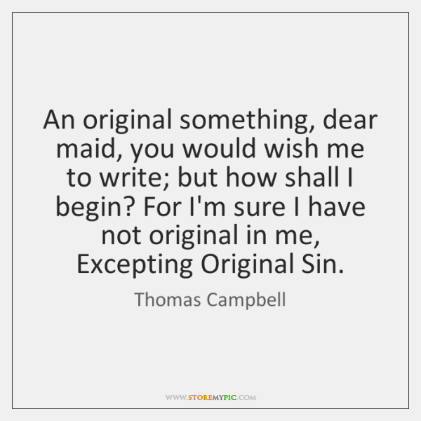 In Cold Blood Quotes And Page Numbers: Thomas Campbell Quotes