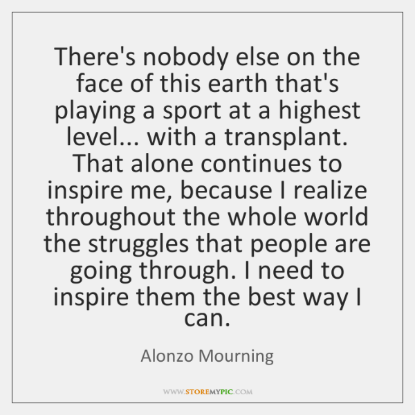 Alonzo Mourning Quotes StoreMyPic Stunning Mourning Quotes