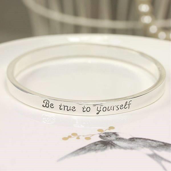 Be true to yourself bracelet