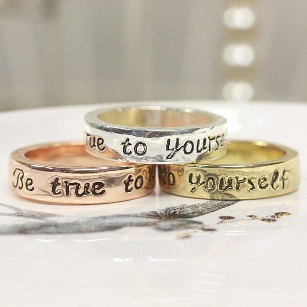 Be true to youself on bracelet