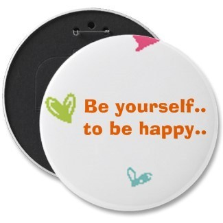 Be yourself to be happy batch
