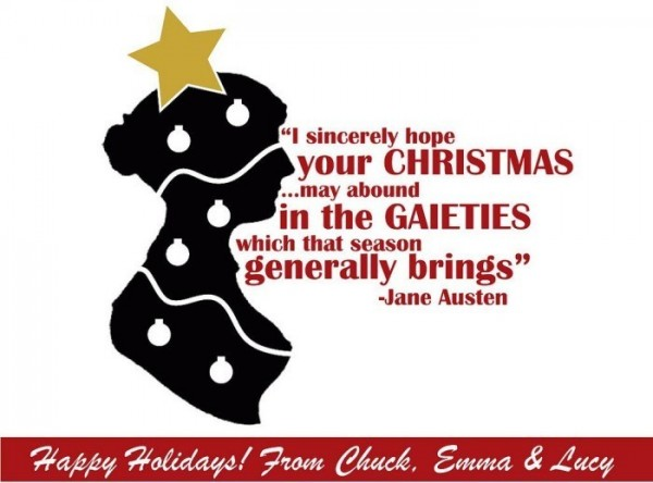 I sincerely hope your christmas may abound in the gaiteties which that season genera