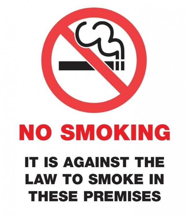 a low against smoking