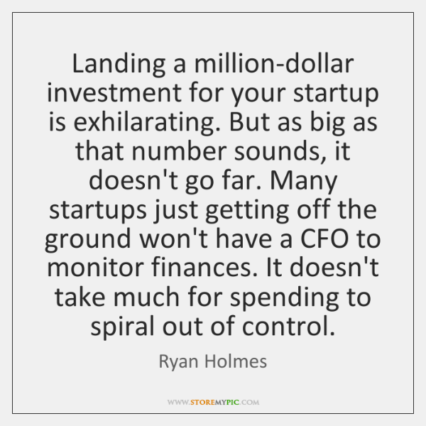 Landing a million-dollar investment for your startup is exhilarating. But as big ...