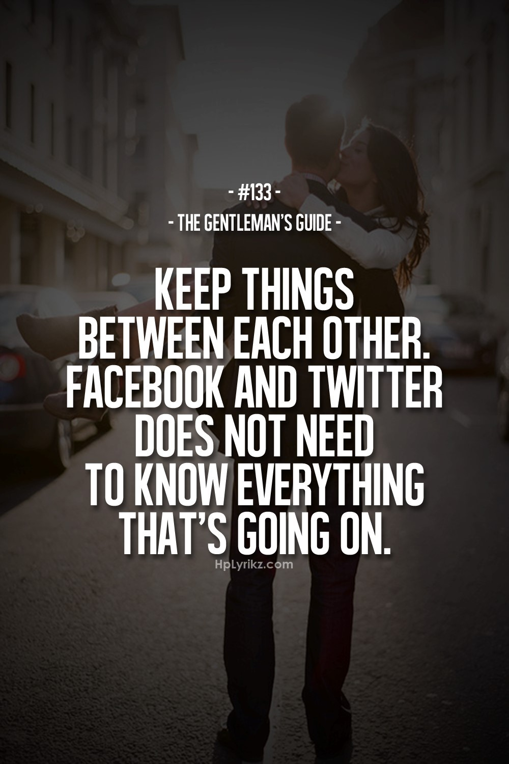 Keep Things Between Each Other Facebook And Twitter Does Not Need To