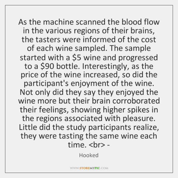 As the machine scanned the blood flow in the various regions of ...