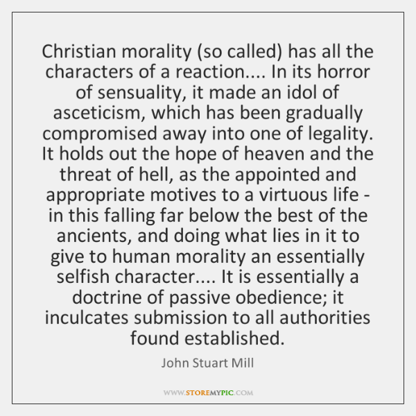 christian moralists essay Moralists and modernizers: america's pre-civil both the essay by foxton and the earlham collegemary garman moralists and modernizers: america's pre.
