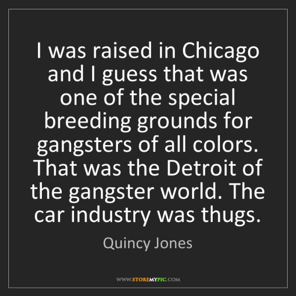 Breeding thugs