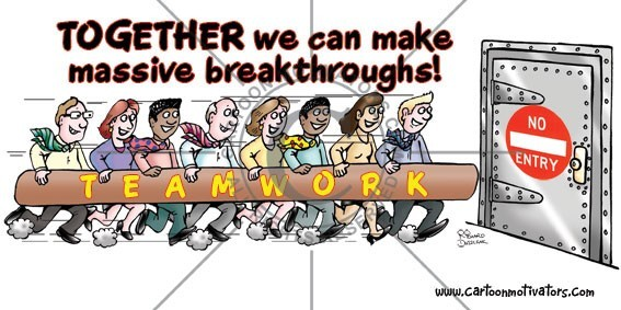 Together we can make massive breakthroughs