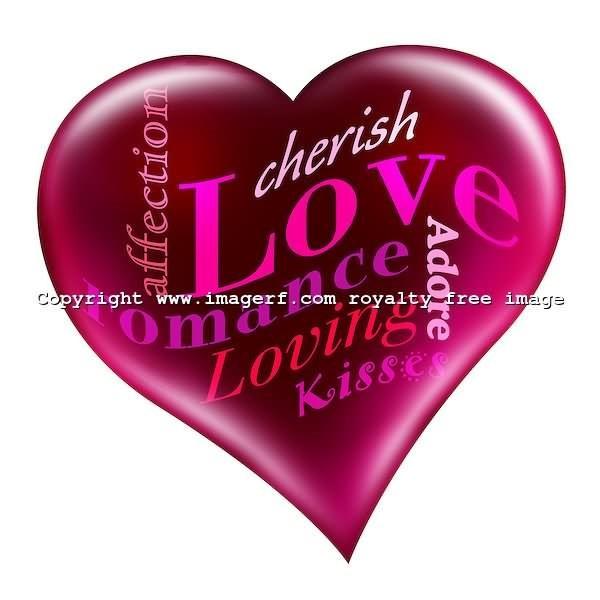 Affection love romance loving kisses heart