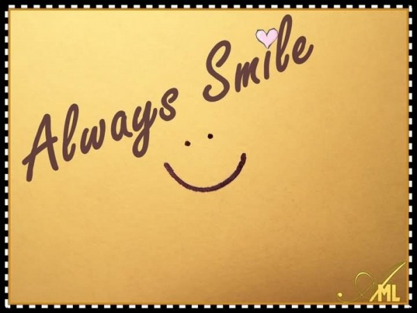 Always smile 002