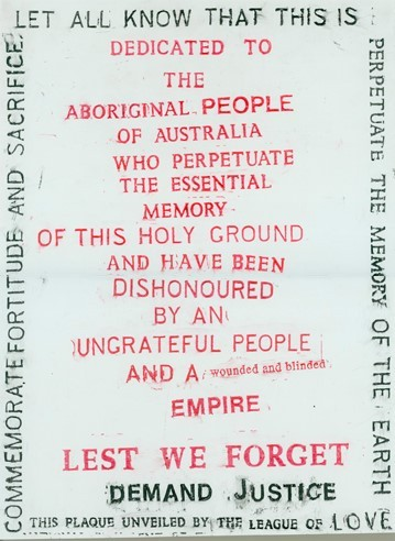 Dedicated to the aboriginal people of australia who perpetuate the essential memory