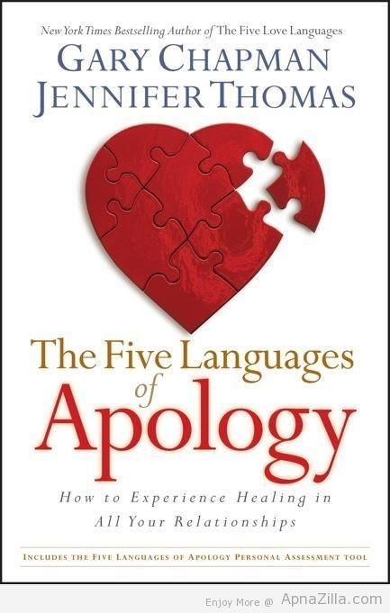 Gary champman jennifer thomas the five language apology