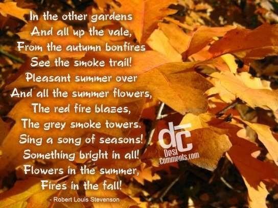 Autumn season wishes quote