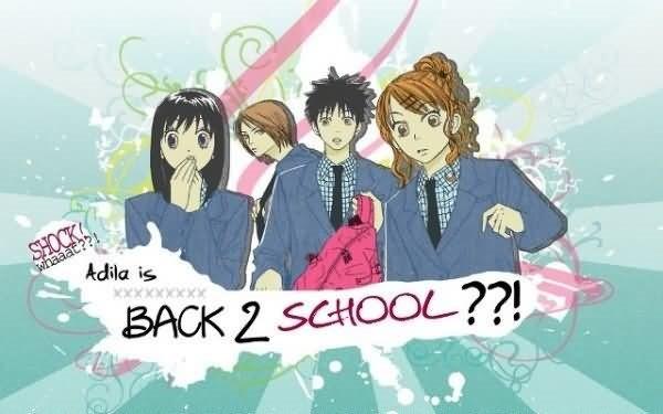 Back 2 school anime