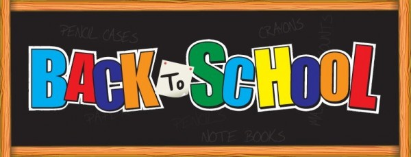 Back to school header image