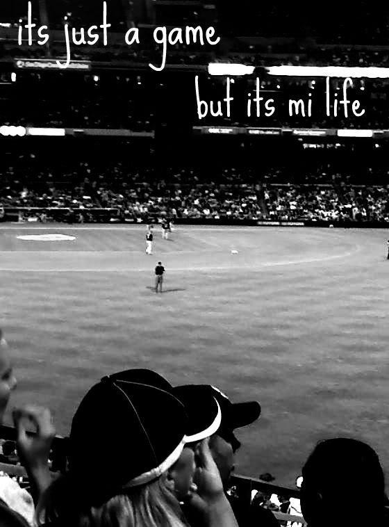 Its just a game but its mi life