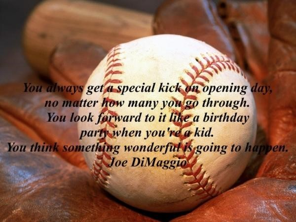 You always get a special kick on opening days no matter how many you go through jeo d