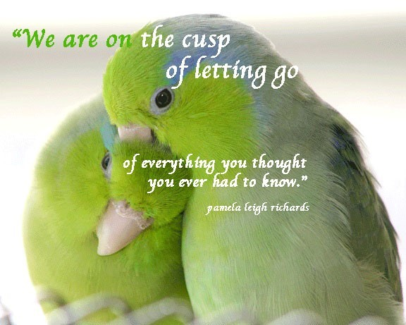 We are on the cusp of letting go of everything you thought you ever had to know