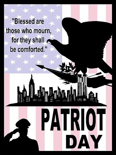 Blessed are those who mourn for they shall be comforted patriot day