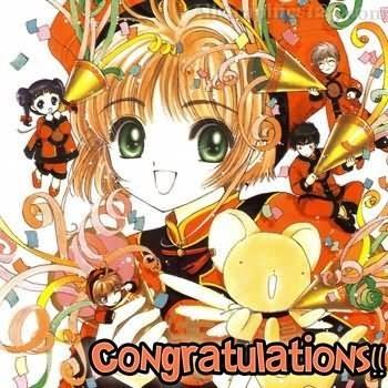 Congratulations anime